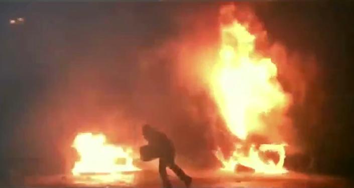 Úryvek z francouzského filmu o Majdanu