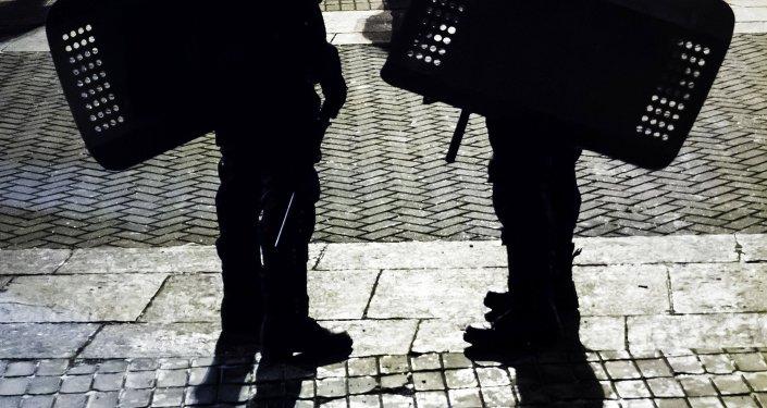 Příslušníci ukrajinských bezpečnostních složek