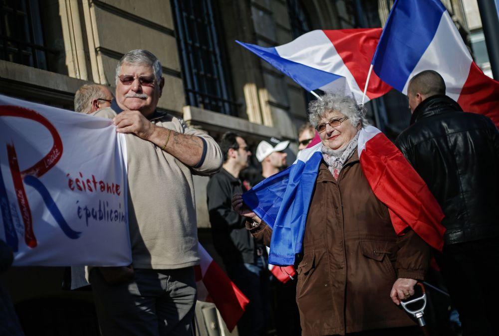 """Pochody """"proti islamizaci Evropy"""""""