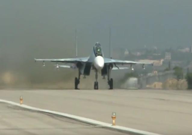 Stíhačky Su-35S nastoupily do bojové služby v Sýrii