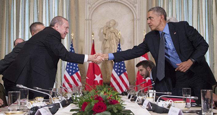 Recep Tayyip Erdogan a Barack Obama