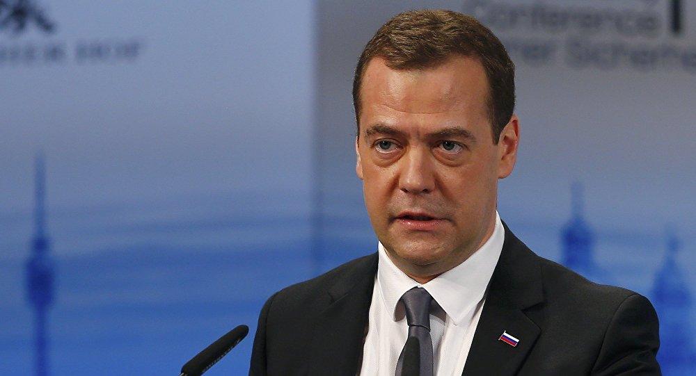 Ruský premiér Dmitrij Medvěděv na Mnichovské bezpečnostní konferenci