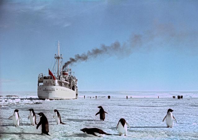 Antarktida. Ilustrační foto
