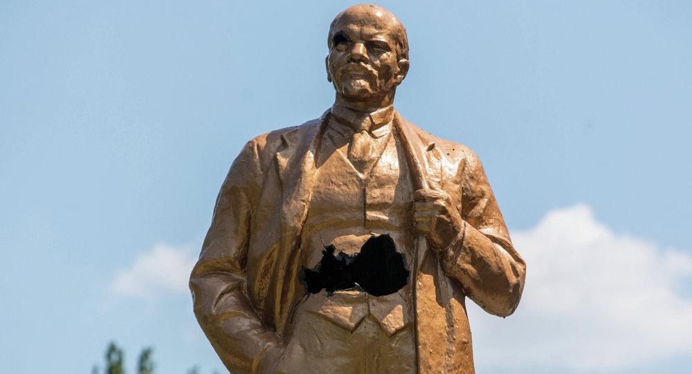 Socha Lenina v Šachtersku