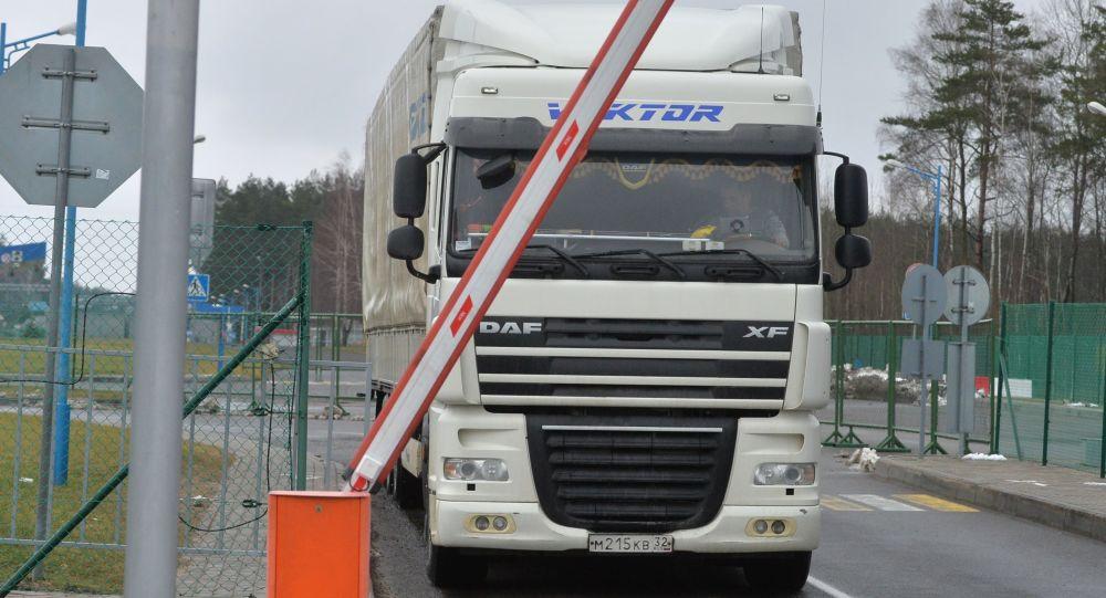 Ruský kamion. Ilustrační foto