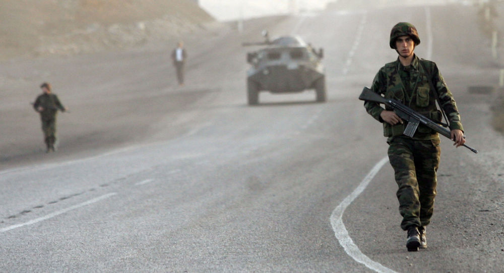 Turečtí vojáci v provincii Širnak