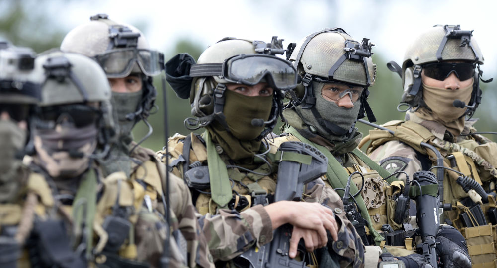 Francouzští vojáci