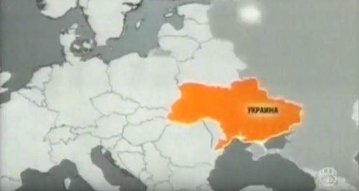 Ukrajinská televize ukázala mapu země bez Krymu