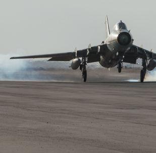 Základna syrského letectva v provincii Homs