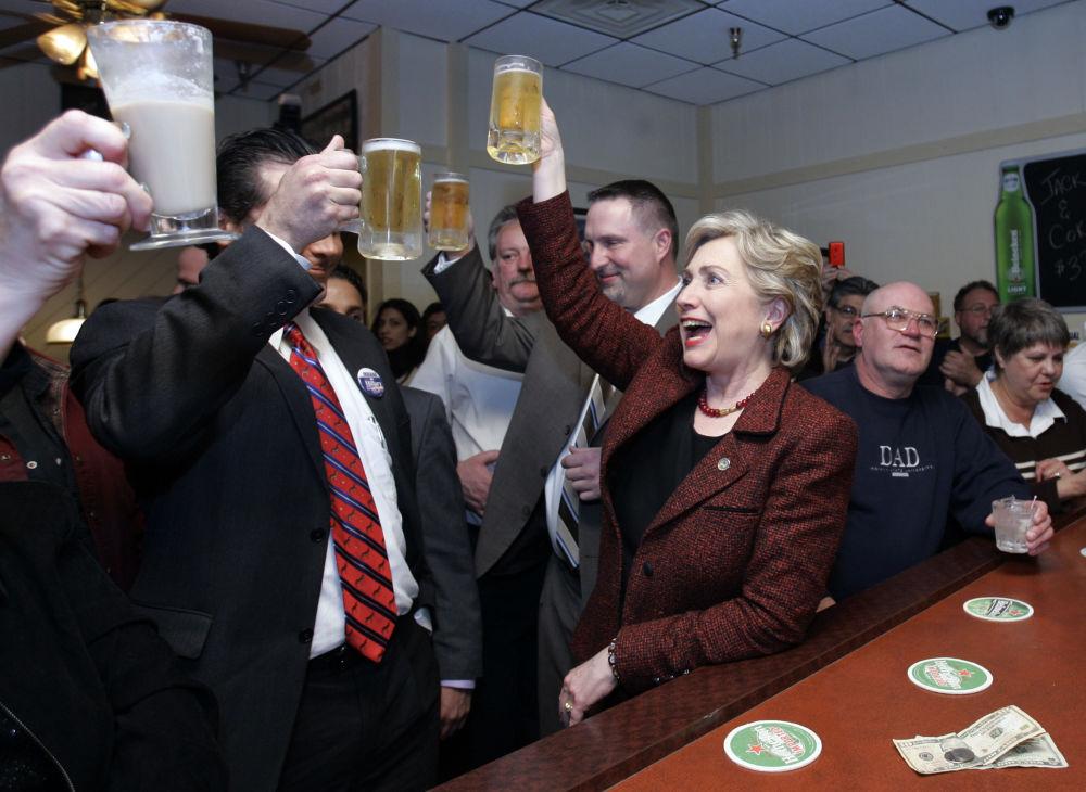 Politici a pivo