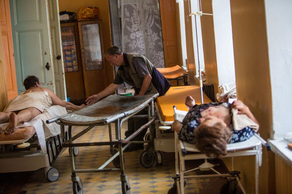 Nemocnice ve Slavjansku
