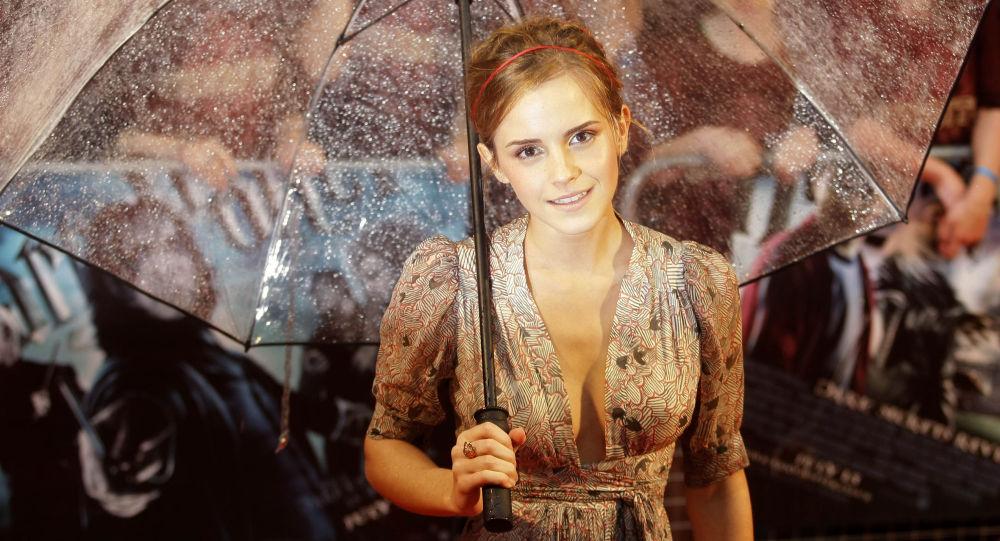 Britská herečka Emma Watsonová