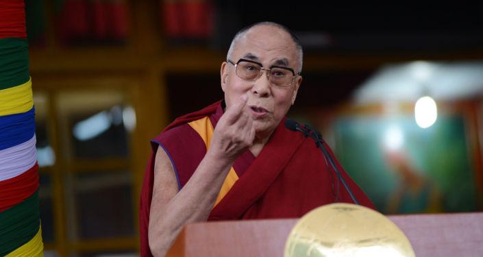 Duchovní vůdce Tibeťanů dalajláma