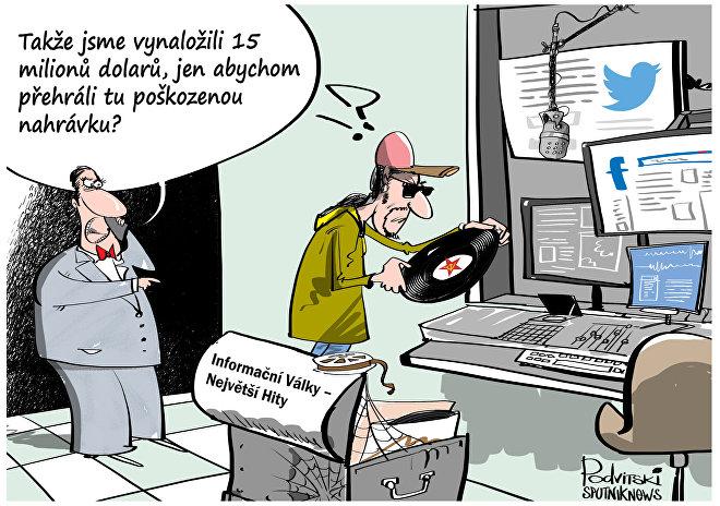 Informační válka RF a USA začne v Praze?