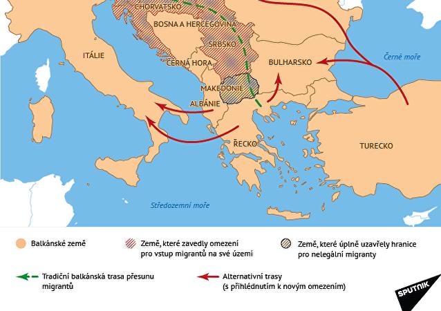 Balkánské země