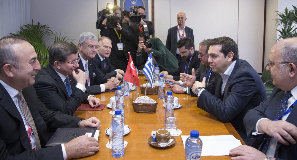 Summit EU-Turecko k migrační problematice v Bruselu. 7. března 2016