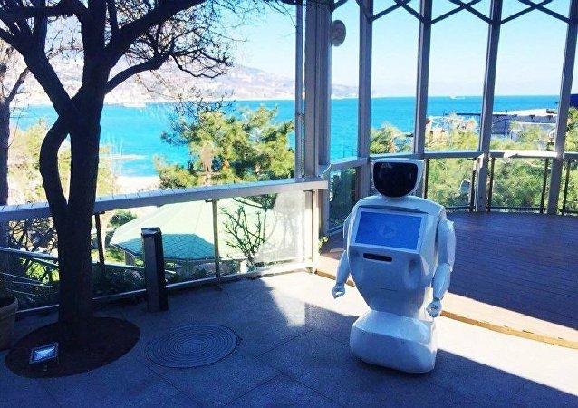Robot-pomocník od ruské společnosti PromoBot