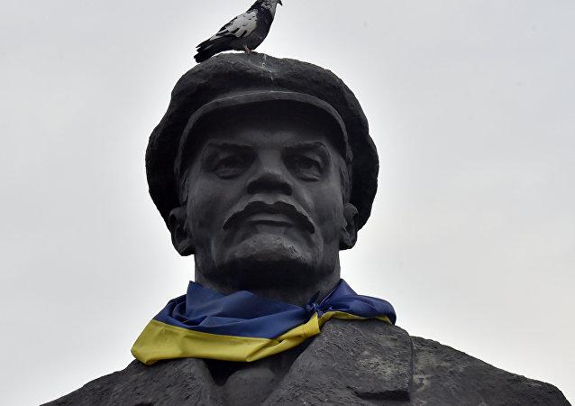 Pomník Lenina