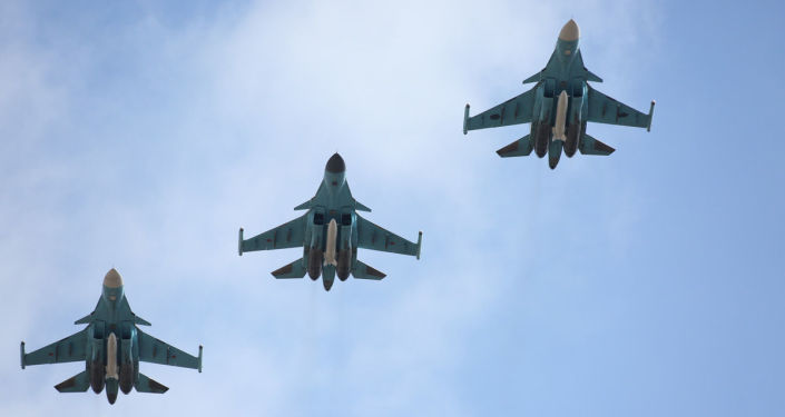 První skupina letadel, která odletěla do Ruska