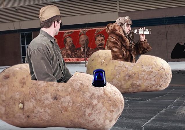 Kanaďané ukázali absurdní reklamu na neexistující ruskou vodku