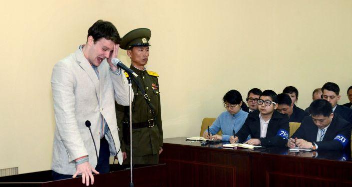 V Severní Koreji byl odsouzen k 15 letům vězení americký student Otto Warmbier
