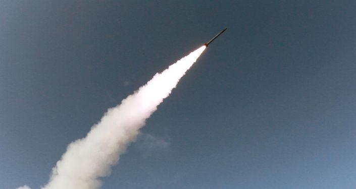 Odpálení rakety, KLDR. Ilustrační foto