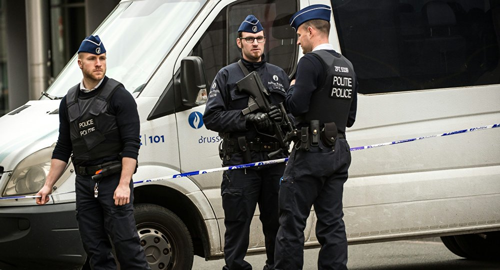 Bruselští policisté