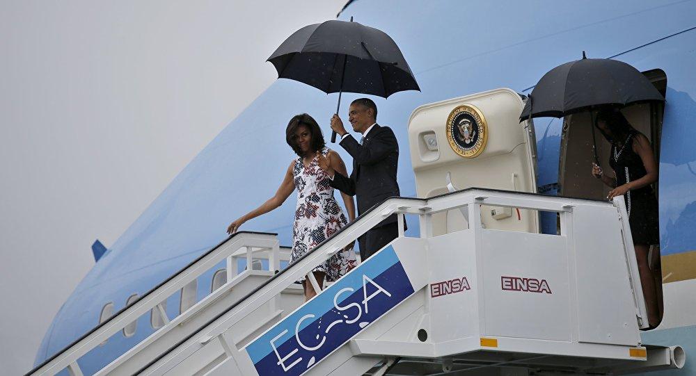 Barack Obama s manželkou