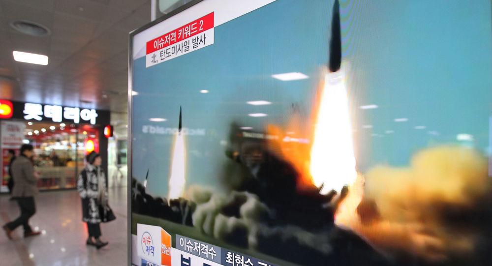 Odpálení rakety KLDR