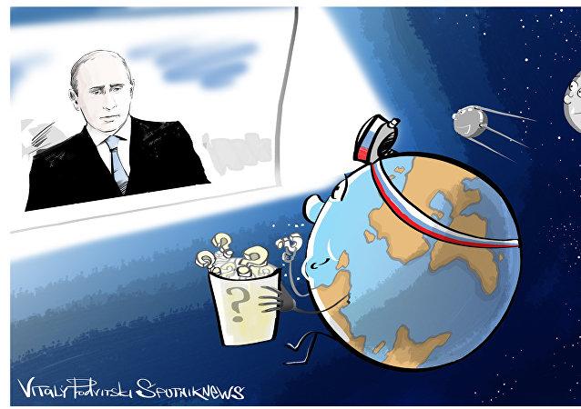 Přímá linka s Putinem