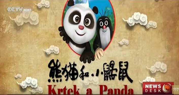 Čína se s radostí setkává s českým Krtečkem a jeho novým kamarádem Pandou. VIDEO