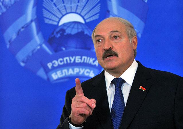 Prezident Běloruska Alexandr Lukašenko