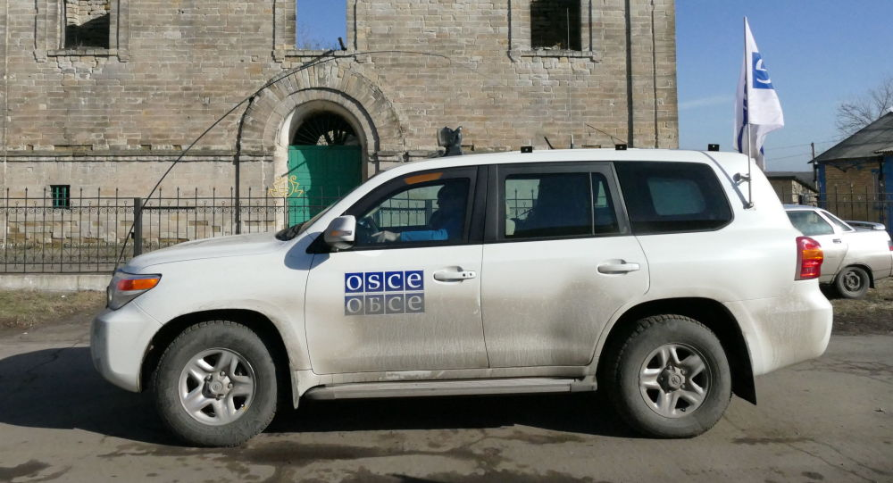 Auto OBSE v Doněcké oblasti