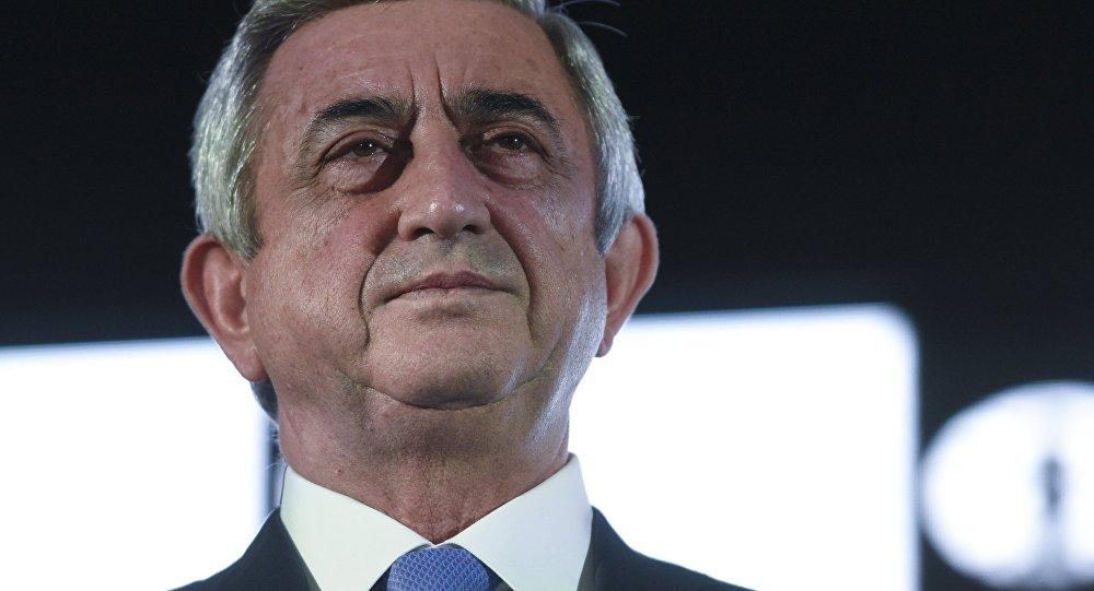 Arménský prezident Serž Sargsjan