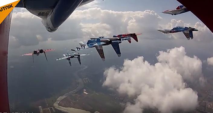 Letecká skupina Ruští vítězové: 25 let vyšší pilotáže