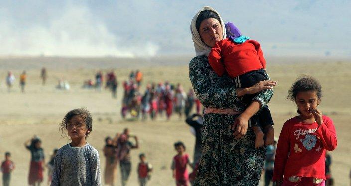 Uprchlíci  z území ovládaného islamským státem