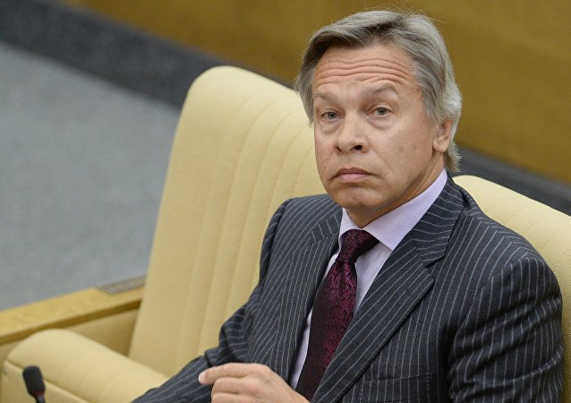Ruský senátor Alexej Puškov