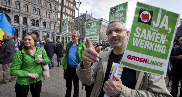 Před referendem v Amsterodamu