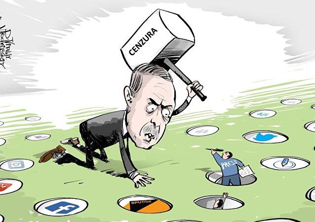 Erdogan a cenzura