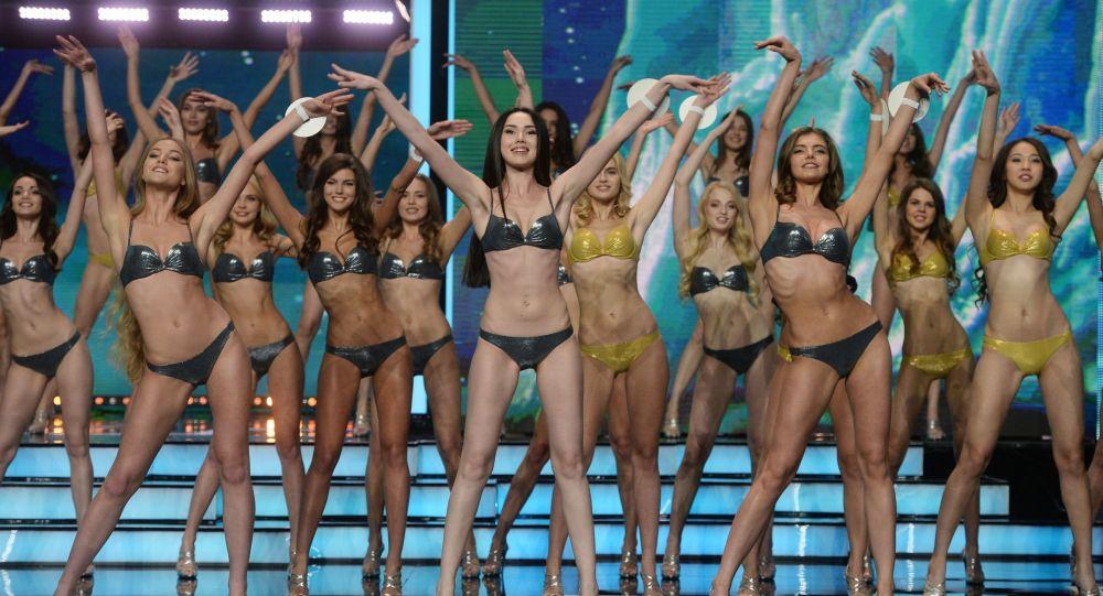 Účastnice soutěže krásy Miss Rusko 2016