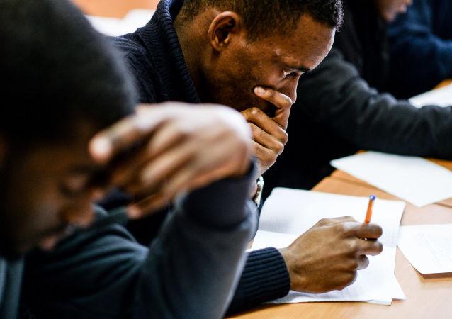 Černošští studenti. Ilustrační foto