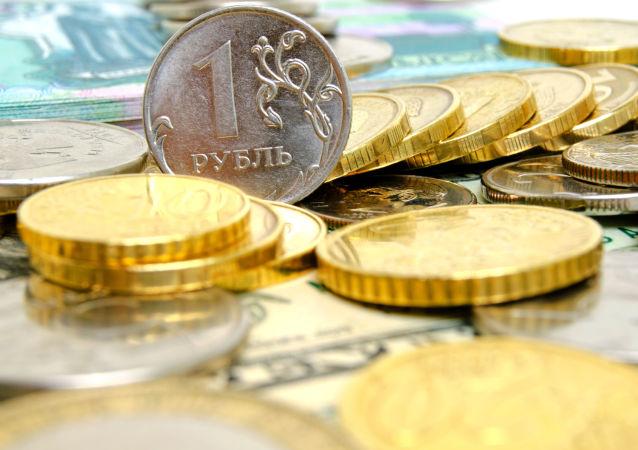 Ruský rubl. Ilustrační foto
