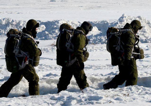 Ruští výsadkáři