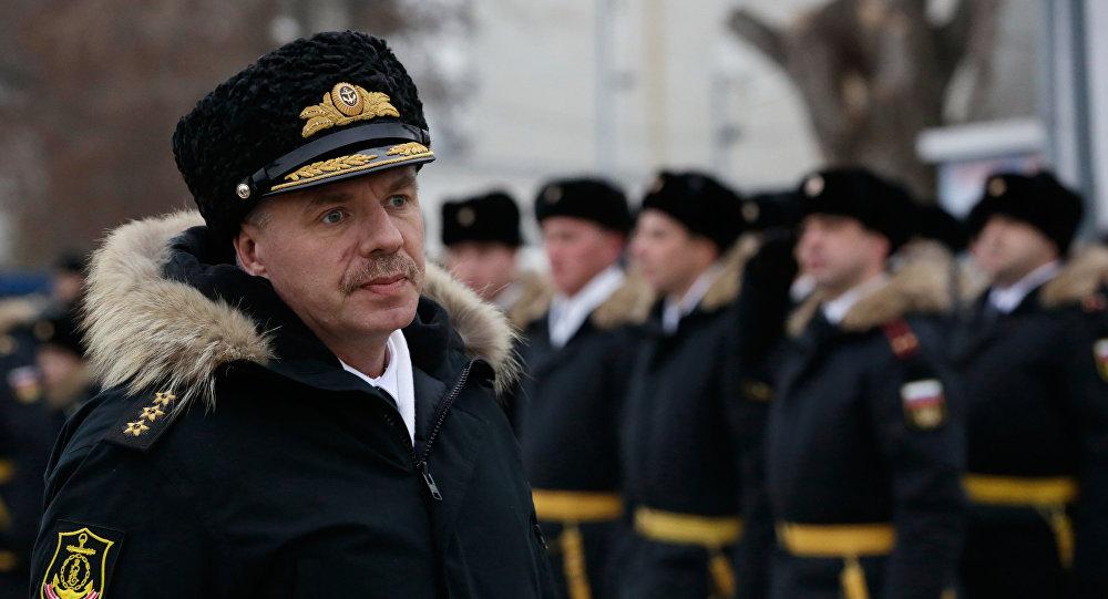 Velitel Černomořské flotily Alexandr Vitko