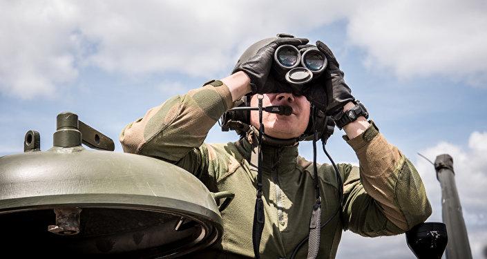 Voják NATO v Polsku