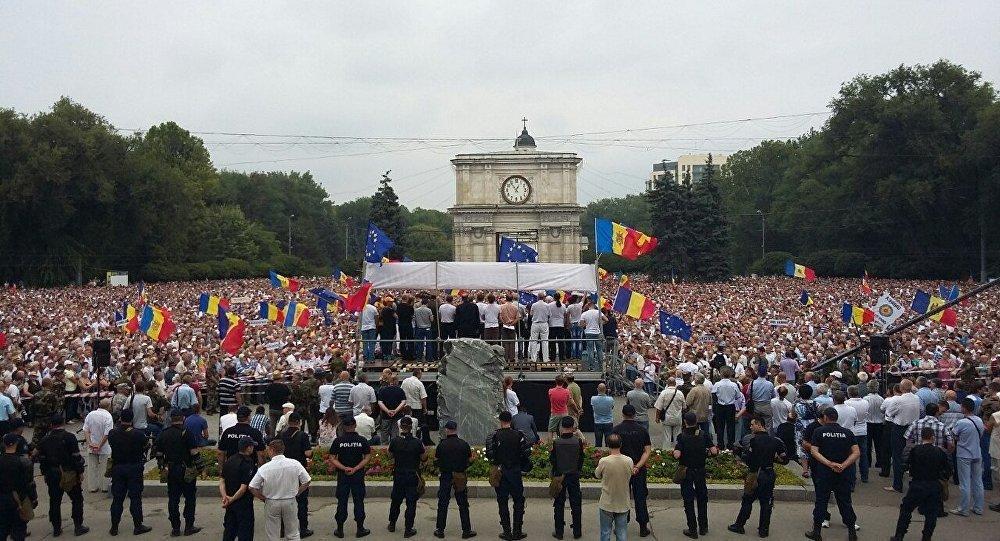 Demonstrace v Kišiněvě