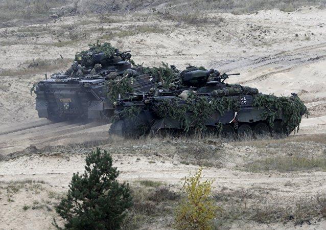Německo-lotyšské cvičení Operation Hazel. Ilustrační foto