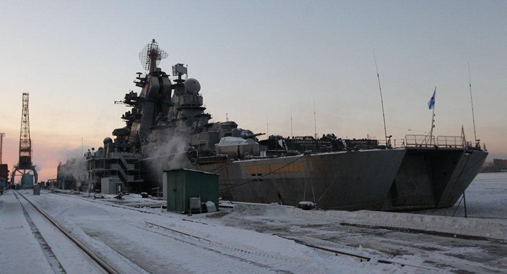 Těžký atomový raketový křižník Admirál Nachimov projektu 1144 Orlan