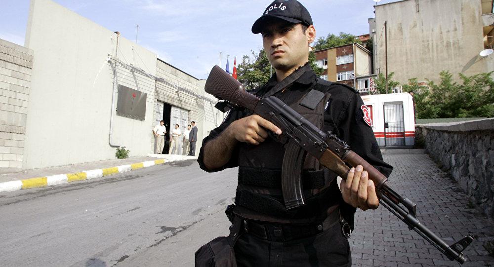 Turecký policista
