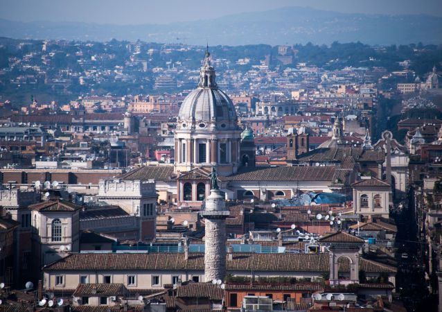 Panorama města Řím